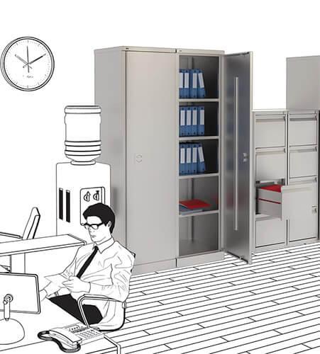 Шкафы офисные